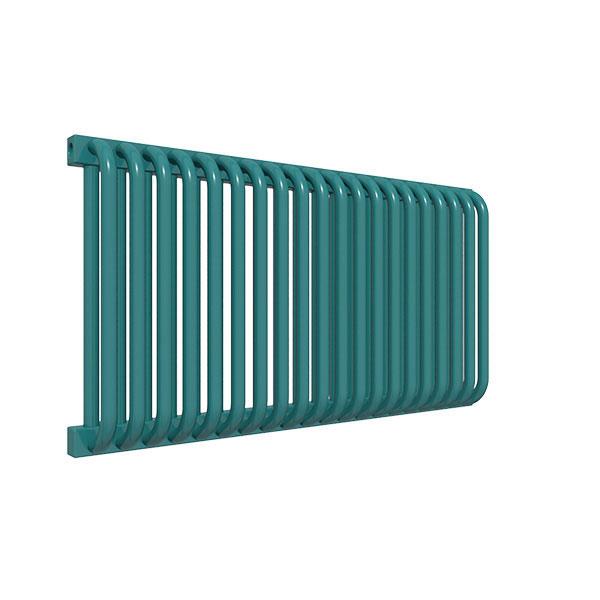seche serviette horizontal ral5021 delfinyl
