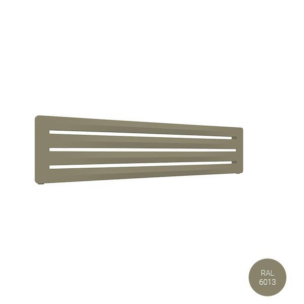 seche serviette horizontal ral6013 aerosx