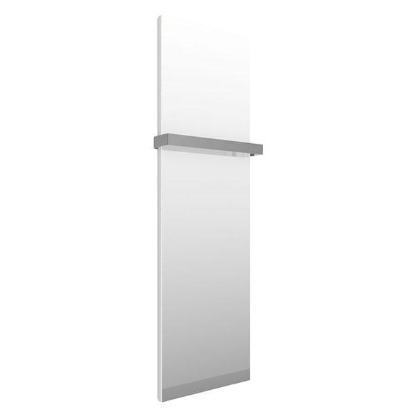 seche serviette miroir case slim blanc