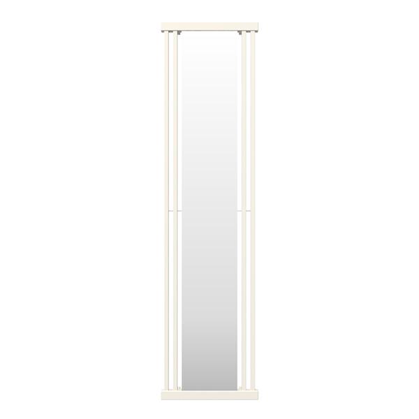 seche serviette miroir intra blanc