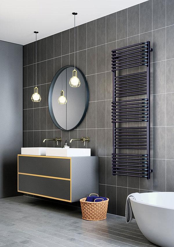 seche serviette radiateur violet pola