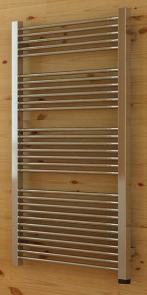 Petit s che serviette chauffage central de 460mm de haut for Petit seche serviette