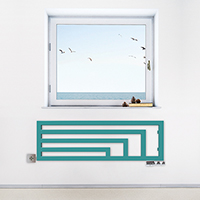 seche serviette horizontal angus y2 ral5018 situation