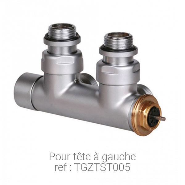 Vanne thermostatique entraxe 50mm - Vanne thermostatique radiateur ...