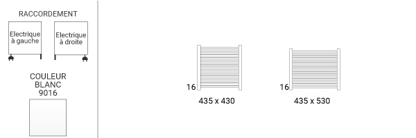 schema petit seche serviette mike435v2b