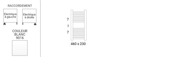 schema petit seche serviette mike460v2b