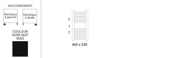 schema petit seche serviette mike460v2n