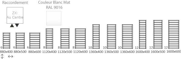 Schéma du sèche-serviette Chauffage Central Diamond