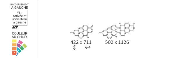 schema seche serviette horizontal hexyl