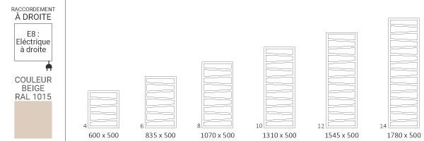 schema seche serviette ral1015 zigzage8