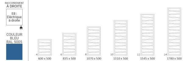 schema seche serviette ral5005 zigzage8