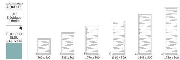 schema seche serviette ral6034 zigzage8