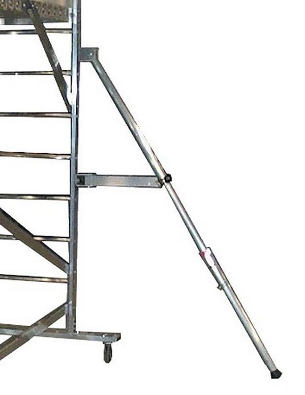 Stehleiter fahrbar picking 3