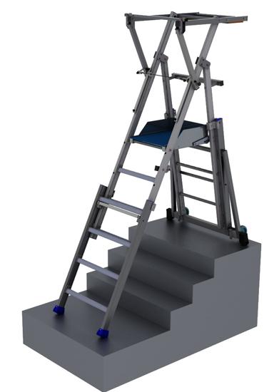 Stehleiter-teleskopisch