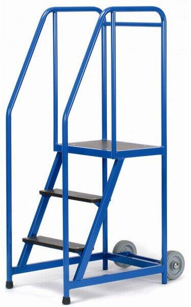 Warenlager Stehleiter 3 Stufen