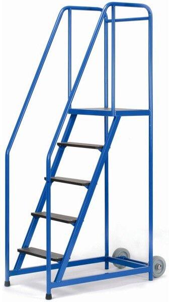 Warenlager Stehleiter 5 Stufen