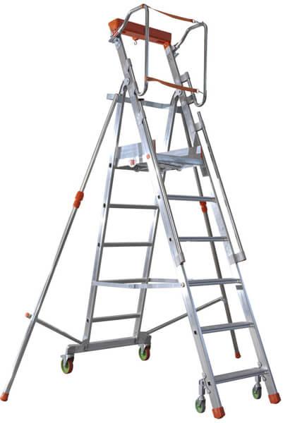 fahrbare Stehleiter CTA
