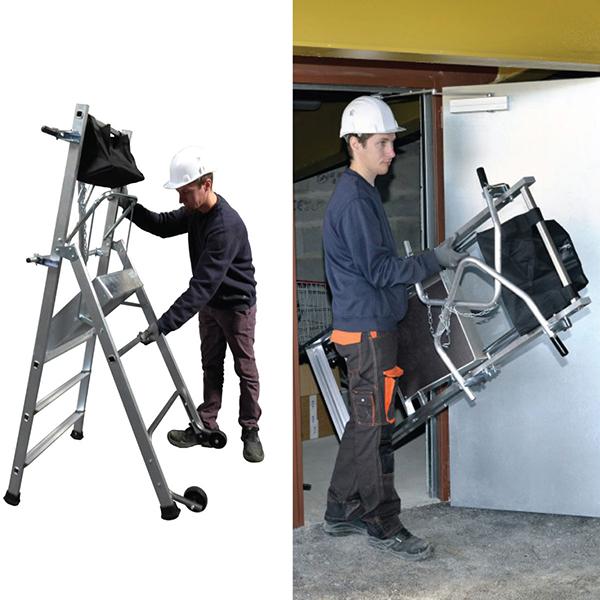 installierung podesttreppe T REX 18 162