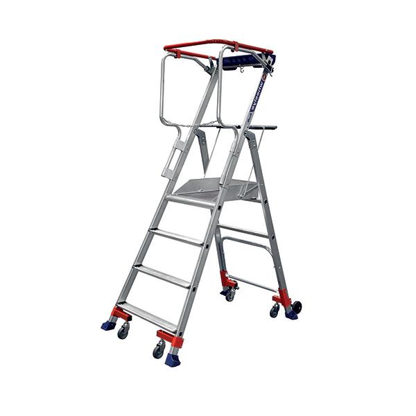 mobile stehleiter wheelys 501904