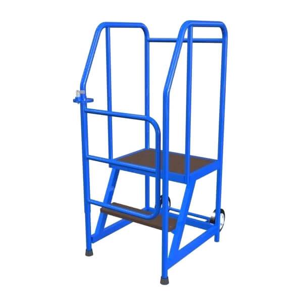 mobile Stehleiter 2 Stufen