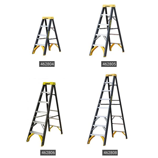 produktpalette Elektriker Stehleiter