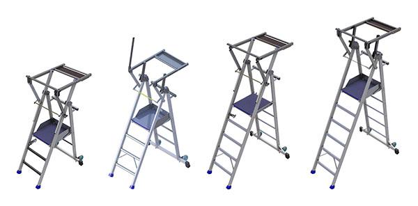 produktpalette mobile podestleiter PIRL2R