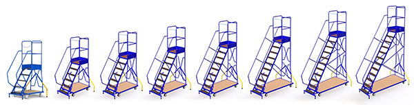 produktpalette mobile stehleiter ESRB