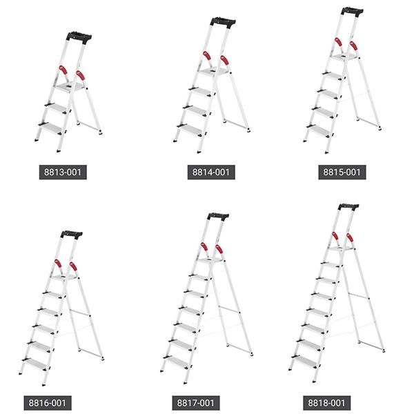 produktpalette stehleiter 8813 001