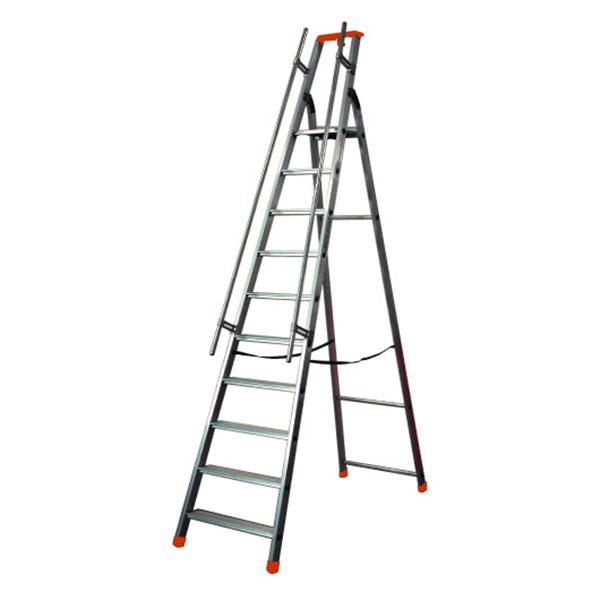 profi stehleiter Q60 M 9 stufen