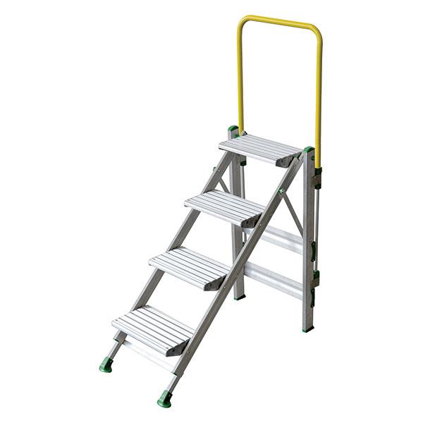 stehleiter POM 4 stufen