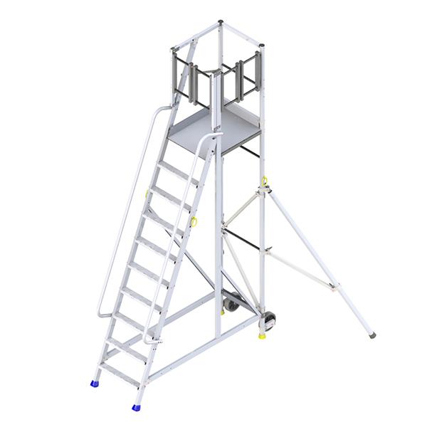 stehleiter lateraler zugang 2