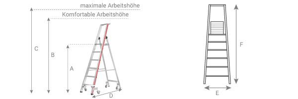 Schema Stehleiter-8026-4P