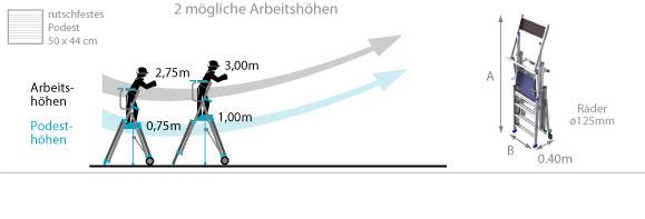 Schema Stehleiter pirc100