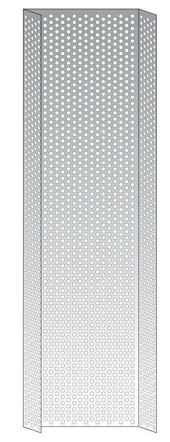 protection arrière de l'échelle crinoline