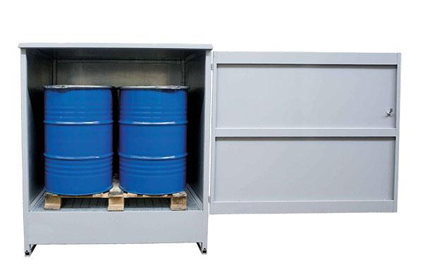 armoire stockage pour 4 futs