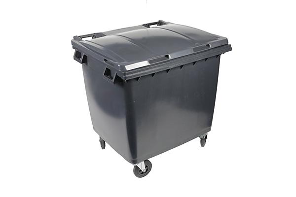 conteneur 1000l gris