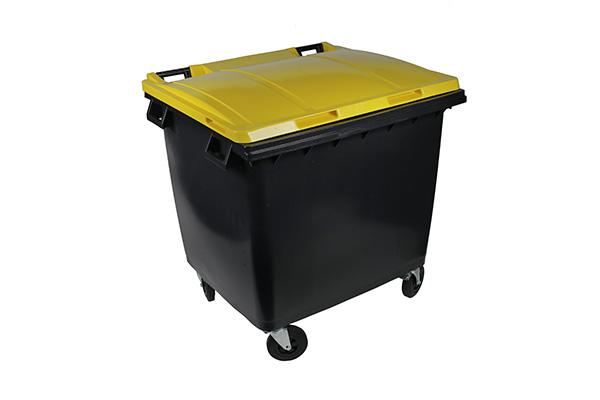 conteneur 1000l jaune