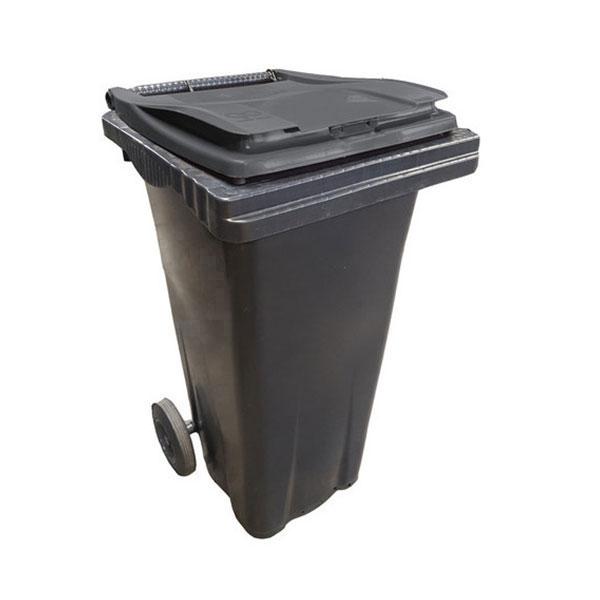 conteneur 120L couvercle gris anthracite