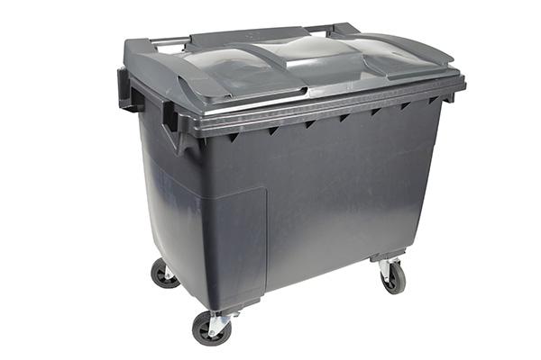 conteneur 500l gris