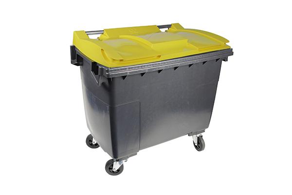conteneur 500l jaune