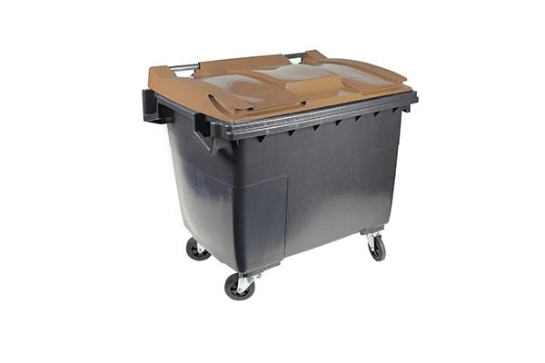 conteneur 660l marron