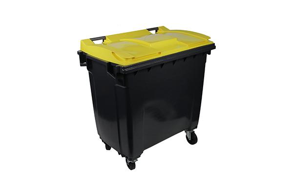 conteneur 770l jaune