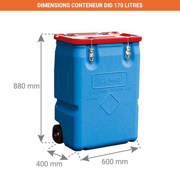 dimensions poubelle did 170l