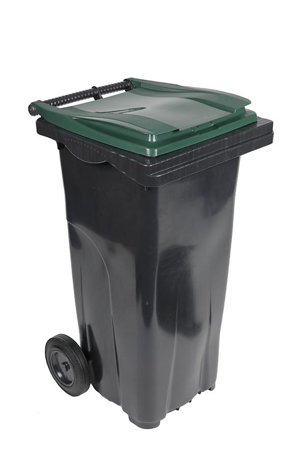 poubelle 120l vert
