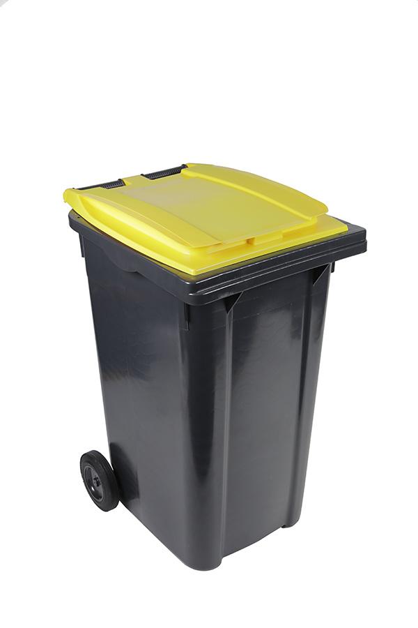 poubelle 240l jaune