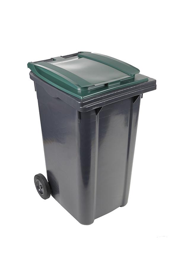 poubelle 240l vert