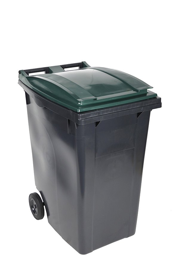 poubelle 360l vert