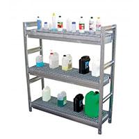 etagere de stockage liquide