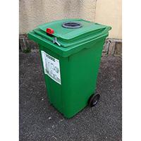 poubelle tri selectif 120l