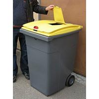 poubelle tri selectif 140 litres